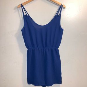 Nectar Blue Romper size Small